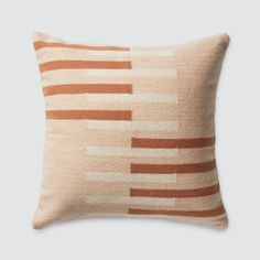 We partner with artisans to create modern goods for the well-traveled home. Euro Pillows, Modern Throw Pillows, Linen Pillows, Accent Pillows, Textiles, Basket Decoration, Quilted Pillow, My New Room, Lumbar Pillow