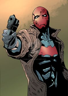 Red Hood art and images Red Hood Comic, Red Hood Dc, Batman Red Hood, Dc Universe, Batman Universe, Dc Comics Art, Marvel Dc Comics, Nightwing, Red Hood Wallpaper