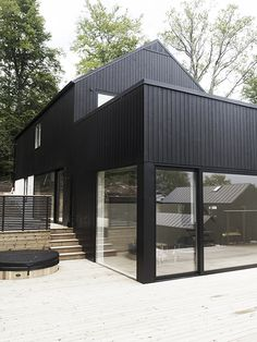 Modern Home by RAA Studio Architecture Architecture Details, Interior Architecture, Modern Architects, House Extensions, House Goals, Black House, Residential Architecture, Exterior Design, Future House