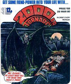 PROG 158 Dredd Judge Child issue Invasion of the Body Snatchers Feature* Sci Fi Horror, Horror Comics, Comic Books Art, Comic Art, Judge Dredd Comic, Judge Dread, Abc Warriors, 2000ad Comic, Ec Comics