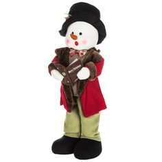 Standing Boy Snowman Caroler Diy Projects Videos, Fun Projects, Sewing Projects, Hobby Lobby Coupon, Silhouette Cameo Machine, Happy Today, Adjustable Legs, Print Coupons, Scrapbook Paper Crafts
