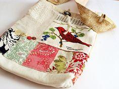 Hodge Podge Hip Bag (no. 07) by Rebecca Sower,