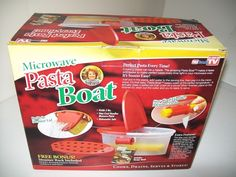 Tele Brands Microwave Pasta Boat As Seen On TV Dishwasher Safe New In Box sealed #AsSeenOnTV #PastaBoat