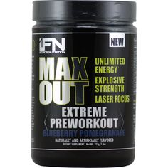 iForce Max Out Blueberry Pomegranate 30 svg | Regular Price: $59.99, Sale Price: TOO LOW TO SHOW! | OvernightSupplements.com | #onSale #supplements #specials #iForceNutrition #PreWorkout  | Max OutExtreme Preworkout Unlimited Energy Explosive Strength Laser Focus Max Out Every Set Every Session Every Game Supercharge your energy levels push your strength and endurance to new limits get razor sharp focus and concentration with Max Out s ultra potent systems of unique ingredien