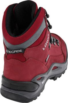 Lowa Renegade GTX Mid WS Hiking Boot (Red)