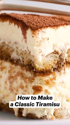 Sweets Recipes, Easy Desserts, Mexican Food Recipes, Delicious Desserts, Cake Recipes, Cooking Recipes, Yummy Food, Easy Italian Desserts, Italian Recipes