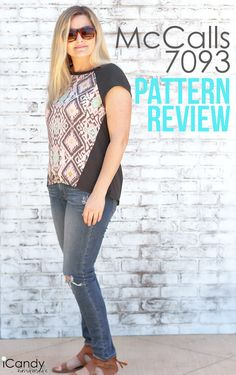 DIY Raglan Top – McCalls 7093 Pattern Review
