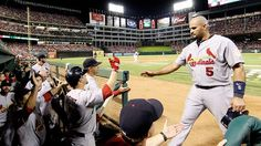Making History in Game 3 of the World Series ~ Albert Pujols
