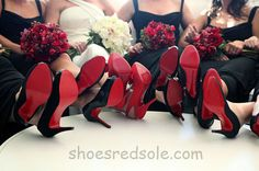 Red bottom heels on Pinterest | Shoes, Health and Parties
