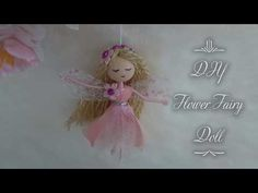 This flower fairy doll is 3 inches tall with a 5 inches hanging loop. A combination of pink tulle skirt and a pink petal makes her a high low pretty dres. Diy Flowers, Fabric Flowers, Pink Tulle Skirt, Pink Petals, Fairy Dress, Sculpture Clay, Embroidery Thread, Craft Stores, High Low