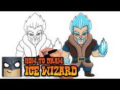 How to Draw Mega Knight   Clash Royale - YouTube