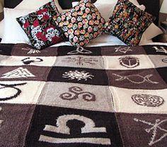 Magickal Throw Knitting Pattern