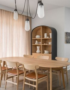 Photo shared by Carl Hansen & Søn on April 2020 tagging Image may contain: people sitting, table and indoor via Living Room Modern, Living Room Sofa, Cozy Living, Dining Area, Dining Chairs, Dining Room, Kitchen Banquette, Kitchen Dining, Toronto