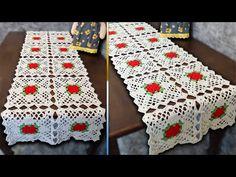 Crochet Table Mat, Crochet Tablecloth Pattern, Crochet Edging Patterns, Crochet Diagram, Crochet Doilies, Crochet Flowers, Crochet Fish, Crochet Crafts, Bead Crafts