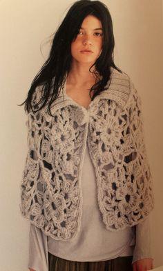 I have never really been a poncho or cape girl. Crochet Scarves, Crochet Shawl, Crochet Yarn, Crochet Clothes, Knit Crochet, Chunky Crochet, Crochet Capas, Moda Crochet, Capes & Ponchos