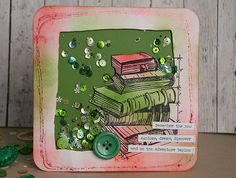 Back to school card by May Flaum using 28 Lilac Lane embellishments
