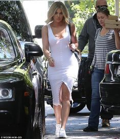 Italian food: Khloe met up with sister Kim and mother Kris Jenner at an Italian restaurant...