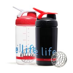 fuel up on-the-go! BlenderBottle's patented stainless steel BlenderBall mixes up your fave pre or post-workout fuel on-the-go, perfectly smooth, every time. bonus: 8 protein shake recipes included!