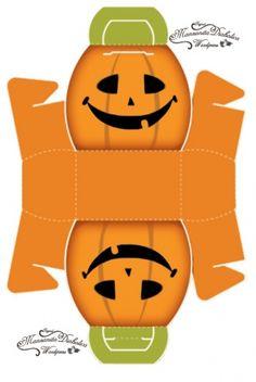 bolsitas para dulces de halloween « Manzanita Diabolica .com