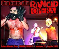 Una Notte alla RANCID OPERA (Crack! Fumetti Dirompenti - Roma 2015) | Caina Mondo Zine