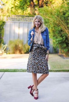 Same Skirt Different Style // @jcrew // The Chic Burrow