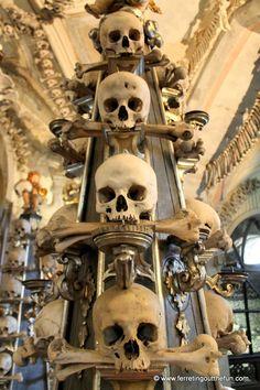 Sedlec Ossuary (Bone Church), Kutna Hora, Czech Republic