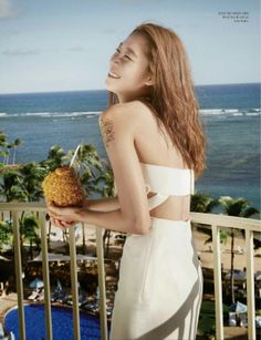Gong Hyo Jin - Elle Magazine March Issue 2014