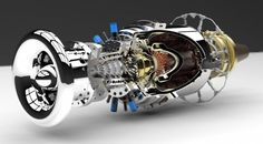 Micro gas turbines can produce 20 times as much power for a given weight as a conventional piston engine