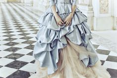 .this reminds me of a wedding dress I did last year....