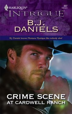 Free Book - Crime Scene at Cardwell Ranch, a romantic suspense novel by B.J. Daniels, is a repeat freebie in the Kindle store, courtesy of publisher Harlequin Intrigue.