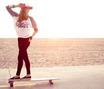 Inspiring picture girls , longboard, longboarding, skate. Resolution: 500x333. Find the picture to your taste!