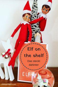 Weihnachtstradition aus den USA: Elf on the shelf Elf On The Shelf, Elf Auf Dem Regal, Diy Weihnachten, Christmas Crafts, Holiday Decor, Crafting, Christmas Carol, Children's Books, Advent Season