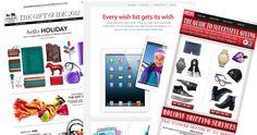 Geschenkführer im weihnachtlichen E-Mail-Marketing