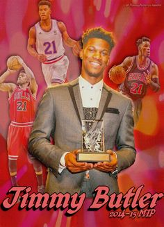 Jimmy Butler-- Most Improved Player