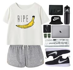 """""""Jessica"""" by justonegirlwithdreams ❤ liked on Polyvore featuring NIKE, adidas and Topshop"""
