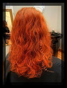 Bright red hair using Redken haircolor Hair Color Experts, Color Correction Hair, Bright Red Hair, Best Hair Salon, Wedding With Kids, Hair Studio, Cool Hair Color, Keratin, Haircolor