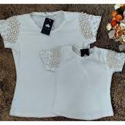 Resultado de imagem para blusas bordadas com chaton