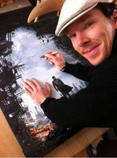 Katja @KatjaSherlocked 8h Photoset: londonphile: Benedict Cumberbatch for STID Korea FB page This is the kind of FB notification I... http://tmblr.co/ZRYQssmdJJY_