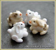 """""""Fuzzy Bunny"""" Moonraker Beads"""