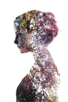 Double exposure portraits: a simple tutorial for making surrealist images, this picture has been edited in photoshop Portraits En Double Exposition, Exposition Multiple, Exposition Photo, Photography Projects, Photography Tutorials, Creative Photography, Amazing Photography, Popular Photography, Photography Flowers