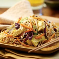 Moo Shu Vegetables #myplate #vegetarian #healthy