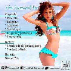 ¡Inscribete en nuestro plan vacacional! ¡Reserva ya con el 50%! será en las semanas: 20/07/2015-24/07/2015 27/07/2015-31/07/2015 03/08/2015-07/08/2015  Comunícate a nuestros números telefónicos para mayor información sede C.C Galería Plaza (0243) 218.10.23 y sede La Soledad (0243) 233.35.78 ¡No esperes más está es tu oportunidad de aprender lo necesario para ser una modelo!  #Model #Miss #Reina #Modelo