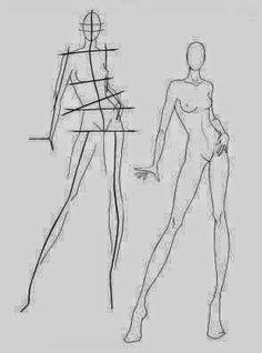 Fashion Design Figure