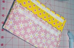 More fabric envelope ideas. This one is clear and easy to follow -- might adapt it for my project.