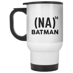 (NA) Batman MUG Travel Mug