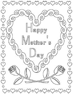 Printable Coloring Mothers Day Cards - Printable Coloring Mothers Day Cards , 17 Printable Mother's Day Coloring Pages so Cute they Mothers Day Poems, Mothers Day Cards, Happy Mothers Day, Super Mario Coloring Pages, Avengers Coloring Pages, Printable Coloring Pages, Coloring Pages For Kids, Coloring Books, Colouring Sheets