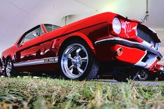 1965 Ford Mustang Custom Coupe G.T.350 by sshtroumpfy, via Flickr