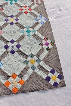 A Quilter's Garden of Friends Quilt tamarackshack.blogspot.com