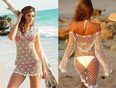 Tutorial #82: Vestido de Playa a Crochet ~ CTejidas [Crochet y Dos Agujas]