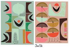 New abstract work by Jenn Ski